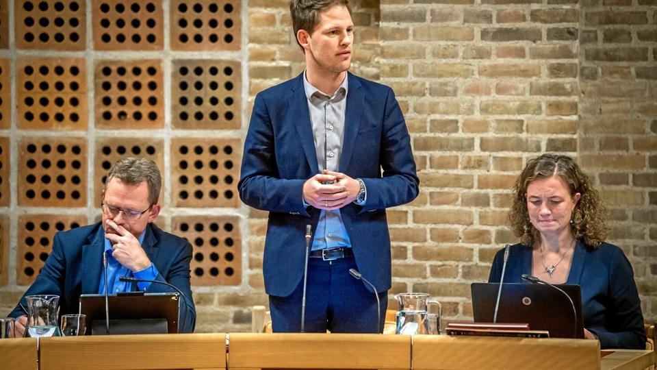Venstre og sundheds- og kulturrådmand Mads Duedahl (V) mener, at beskæftigelsesområdet skal flyttes ind under borgmesteren. Arkivfoto:Martin Damgård