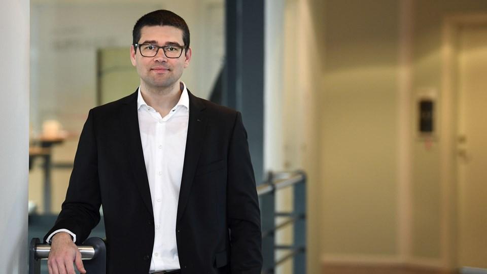 Daniel Lucani fortæller, at han særligt ser et marked i EU, hvor en ny persondataforordning strammer reglerne for håndtering af data gevaldigt op.