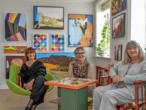 Kunstnergruppen Pii udstiller i pinsen i Løgstør