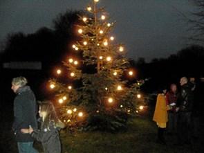 Hyggelig juletradition holdt i hævd
