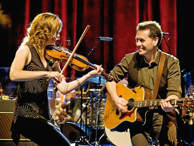 Jane&Shane - giver lørdag 3. november koncert hos Club West i Borregaard. PR-foto
