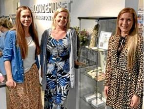 Søstre har succes med smykkedesign