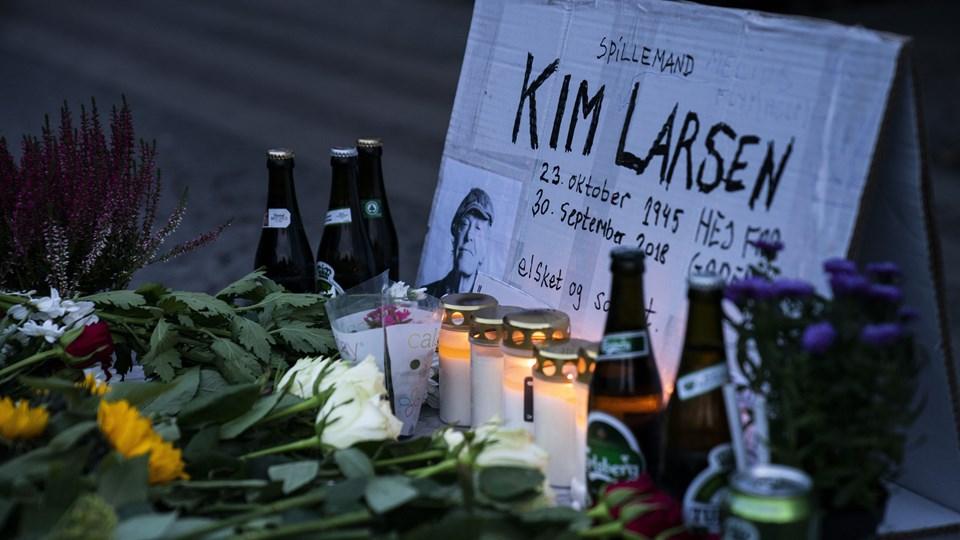 Kim Larsen afgik søndag morgen ved døden - 72 år gammel. Foto: Martin Sylvest/Ritzau Scanpix