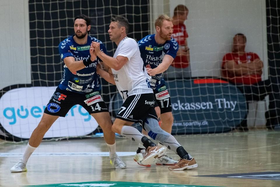 Mors-Thy-BSV, Santander Cup. Foto: Diana Holm