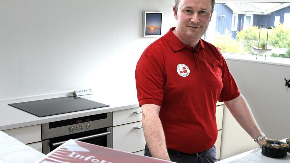 Jan Brusgaard, indehaver af Feriepartner Thy, har i mange år været i bestyrelsen i Thy Turistforening. Han bifalder ikke ideen om centralisering af turismeindsatsen. Arkivfoto