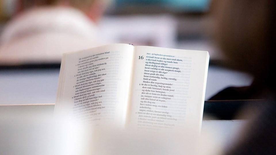 Adventssalmerne kommer i fokus i Klarup Kirke tirsdag 18. november. Arkivfoto