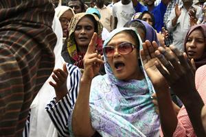 Fire demonstranter dræbt af skud i Sudan