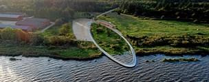Vild bro får byggebranchens Oscar: Nordjysk virksomhed leverede betonen
