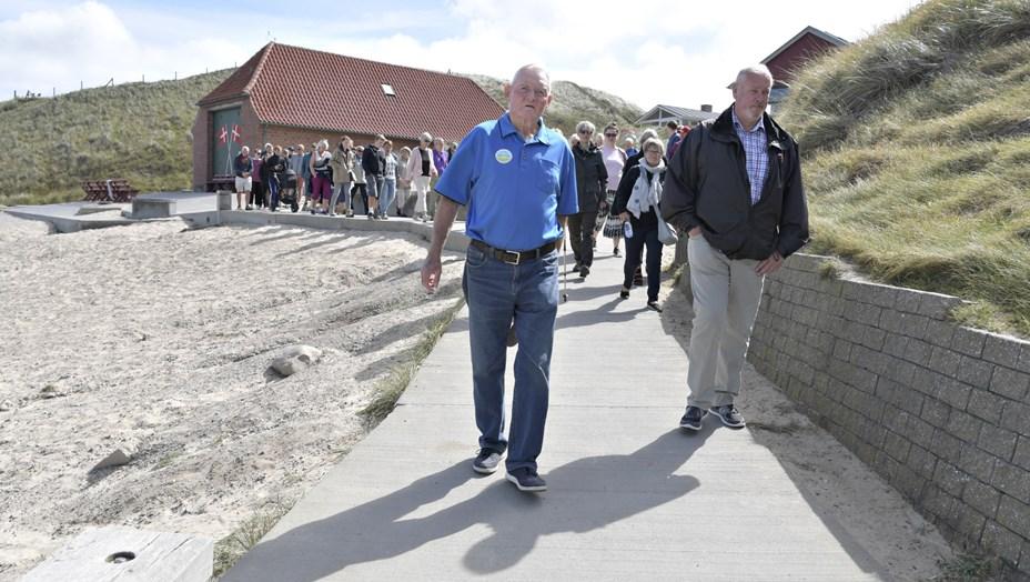 Tag med på kyst- og byvandring i Lønstrup