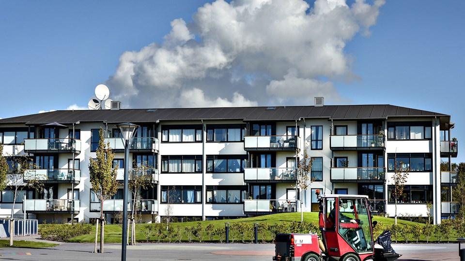 Der var i opstarten med store Sociale Helhedsplan i Hjørring Vest by tilknyttet en ekstern konsulent, der i skarpe vendinger kriserede ledelsen i Bolig Hjørring. Arkivfoto: Bent Bach