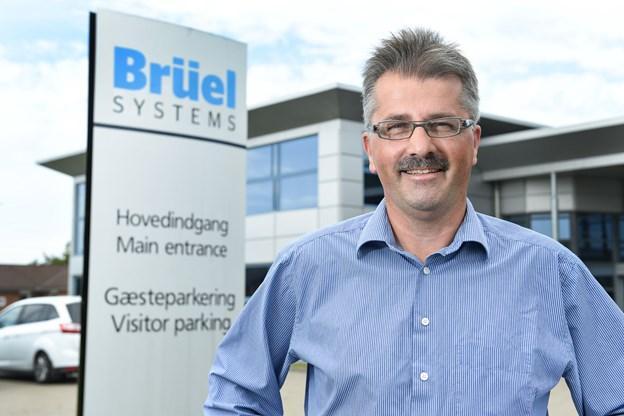 Kurt Bech Christensen stopper som administrerende direktør for Brüel Systems A/S i Hjørring. Arkivfoto: Bente Poder