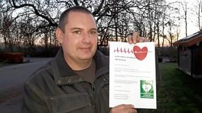 SMS Hjertestartergruppe i Vrå område