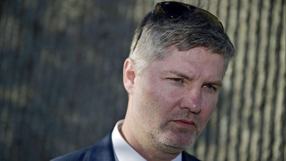 - Efter FS' nederlag i Roskilde Bank-sagen sagde jeg, at de burde besinde sig, sagde Arvid Andersen. Arkivfoto