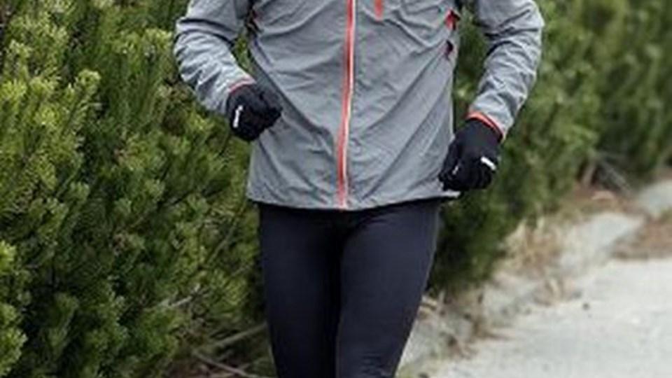 Løbecoach Lars Lauridsen vil gerne have følge på nogle af sine løbeture i Rold Skov, af netværksivrige virksomhedledere fra både private og offentlige virksomheder i Rebild Kommune. Foto: Michael Bygballe