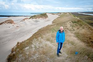 Jens er bekymret for Agger Tange: Nu kommer vinter og storme