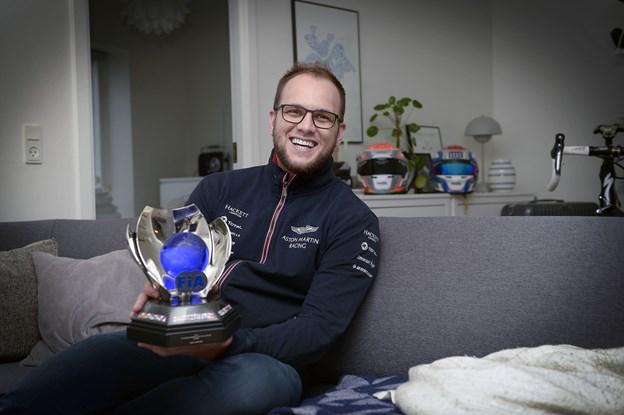 Endelig en triumf for nordjysk racerkører