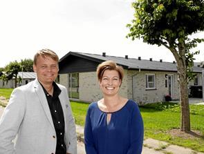 Spar V køber ti rækkehuse af Arne Andersen