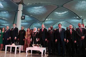 Erdogan indvier ny lufthavn med skyhøje ambitioner