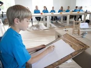 Biblioteker inviterer til vinterkunstskole