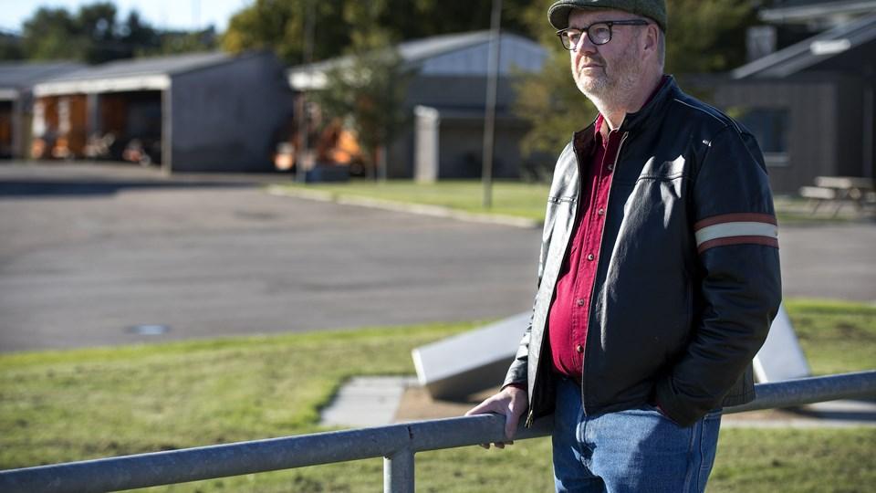 Per Rise udpegede en medarbejder som havde stjålet metalaffald, men anmeldelsen var forgæves, og det undrer ham. Foto: Thomas Hansen