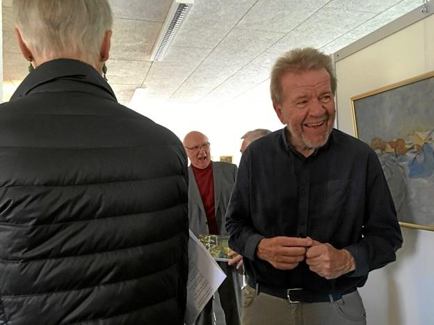 Svend Erik Østergaard har brugt et år på at samle materiale om himmerlandsmaleren Mouritz Nørgaard.