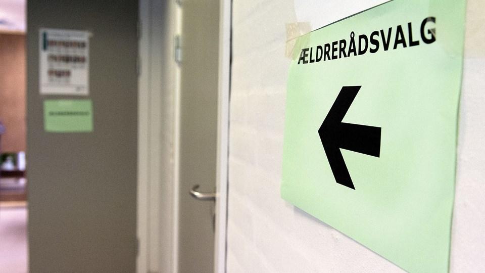 Næste ældrerådsvalg bliver et fremmødevalg. Billedet er fra valget i 2005. Arkivfoto: Torben Hansen