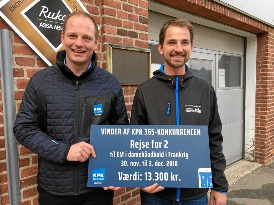 KPK Døre & Vinduers digitale tiltag vel modtaget
