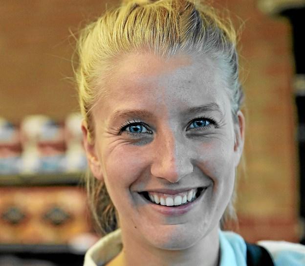 Camilla Larsen: - Jeg arbejder som regel i uge 42. Det er mest børnefamilier, der holder fri. Jeg venter og holder ferie på et andet tidspunkt. Foto: Allan Mortensen
