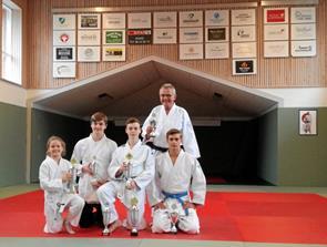 Judoklubben uddelte pokaler