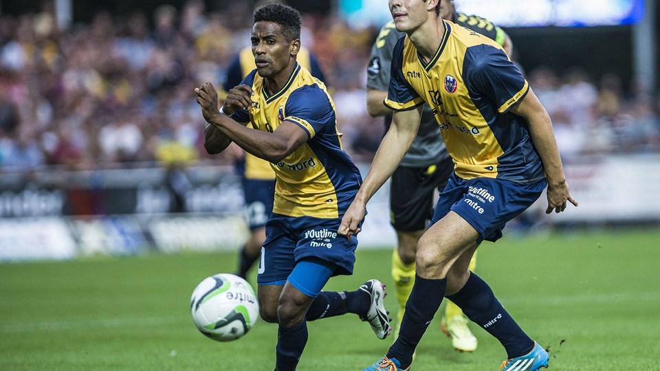 Emil Berggreen nettede to gange mod Brøndby. Foto: Sarah Würtz