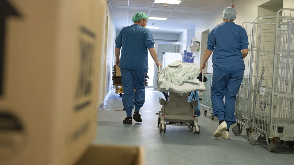 Den er stadig rivende gal med registreringen af og refusionen for sygehusbehandlinger for Morsø-borgere indlagt på Thisted sygehus, mener udvalgsformand. Arkivfoto: Bo Lehm