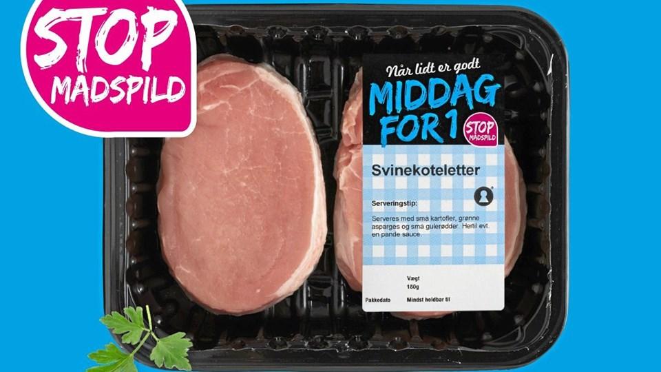 Fakta indfører små pakker med kød til singler. Foto: Fakta