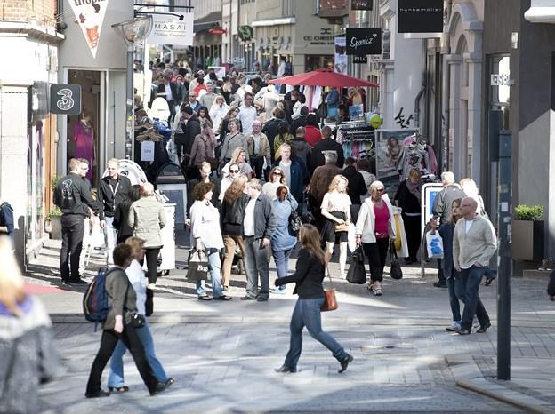 Aalborg er landets mest innovative handelsby.Arkivfoto: Torben Hansen