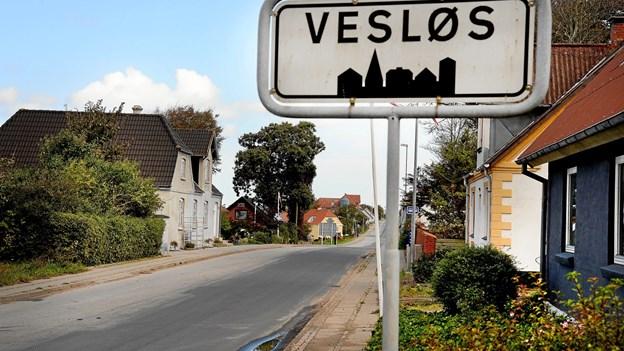 Privatperson vil udstykke grunde i Vesløs: Kommunen bakker op
