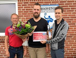 Mathias Ettrup Dahl blev Årets Bjessing