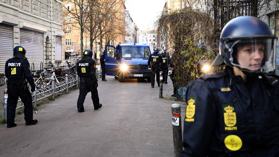 I forbindelse med Rasmus Paludans demonstration på Nørrebro i København gik en del til angreb på politiet. Det endte med optøjer. (Arkivfoto)