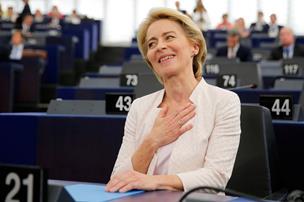 Første kvinde er godkendt til toppost i EU på smalt mandat