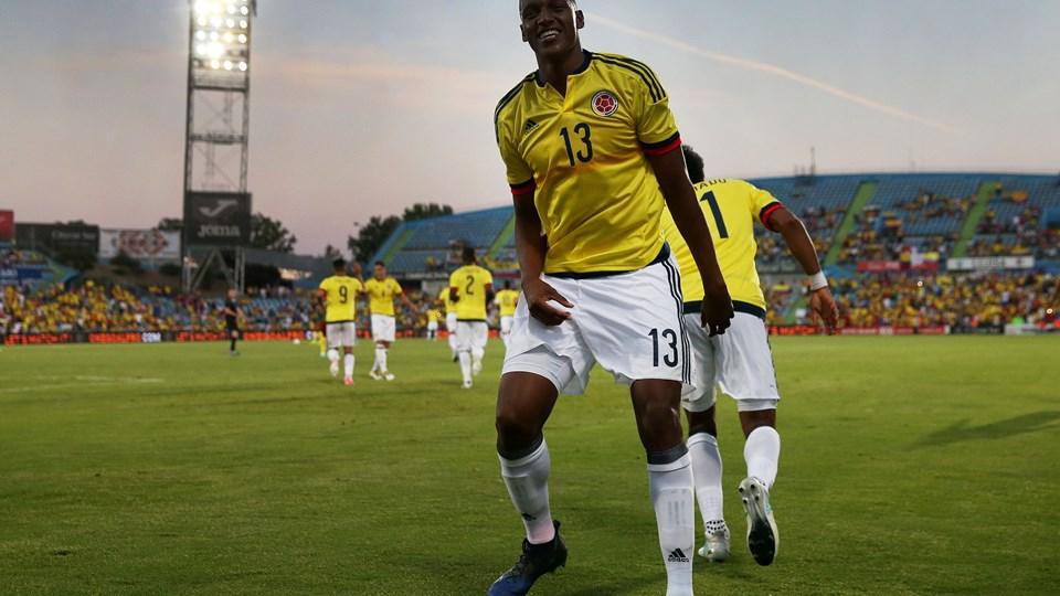 Colombianske Yerry Mina er klar til at tørne ud for FC Barcelona. Foto: Reuters/Sergio Perez