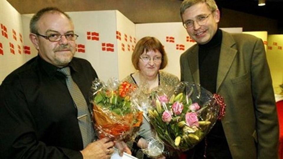 Erik Degn (tv) 60 år.