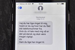 Svindlere bruger uskyldiges telefonnumre - og du kan intet stille op