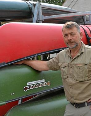 Carsten Nørgaard formidler de gode oplevelser på fjorden