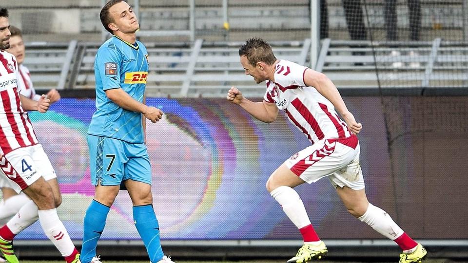 Aab - FC Nordsjælland, Alka Superliga Foto: Scanpix/Henning Bagger