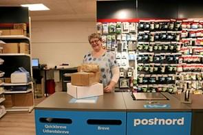 Ny postbutik og boghandel et godt mix