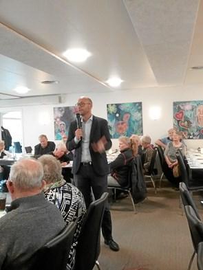 Livlig dialog i Ældre Sagen møde i Sindal