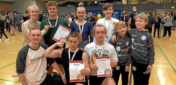 Gymnaster fik flotte placeringer