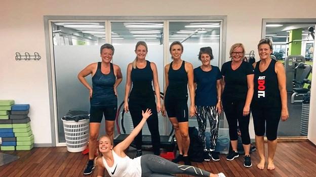 Der bliver atter mulighed for at dyrke fitness i Brovst. Privatfoto