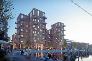 Huse i 13 etager og ny park ved Østre Havn