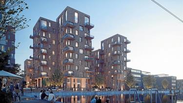 Begejstring for havnehuse i 13 etager