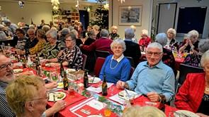 Stor succes for den traditionelle julefrokost på Beltoften