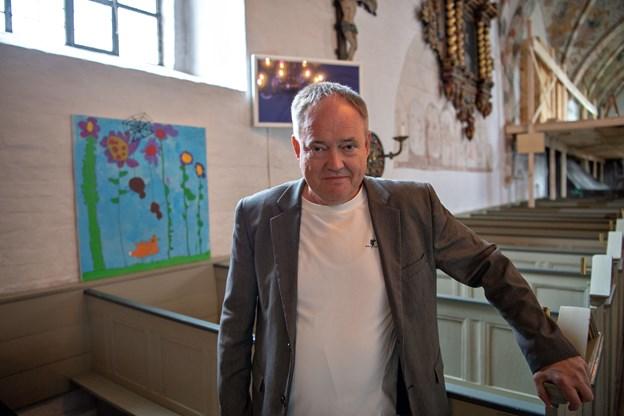 Provst Viggo Poulsen fra Sæby Kirke har ikke opgivet håbet om at være med til at vende udviklingen.